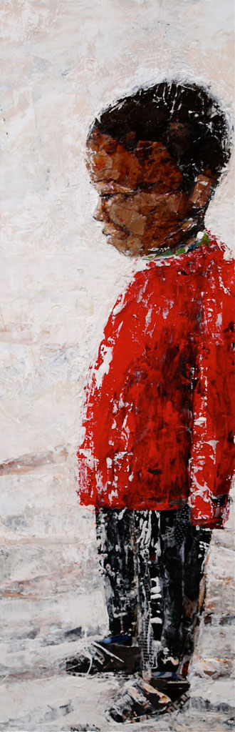 El Jersei Vermell 90x30cm